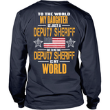 My Deputy Sheriff Daughter (backside design)