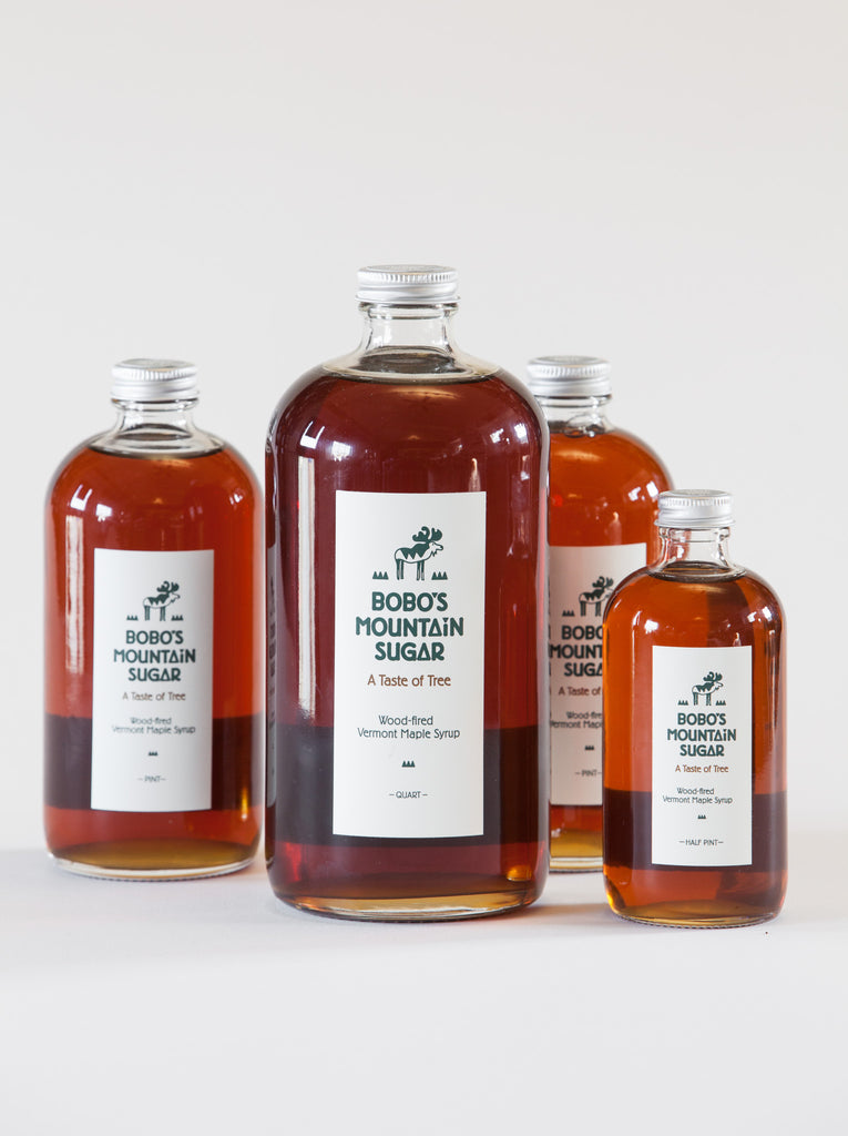 Bobos Mountain Sugar, Wood - Fired VT Maple Syrup