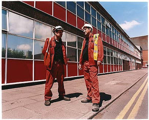 The two Keith's - BBM Office Block, Bloom&Billet Mill, Scunthorpe 2007