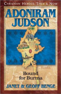 Adoniram Judson - Book Heaven - Challenge Press from SPRING ARBOR DISTRIBUTORS