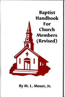 Baptist Handbook for Church Members - Book Heaven - Challenge Press from CHALLENGE PRESS