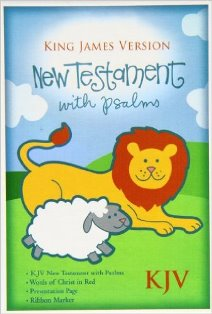 Baby's KJV New Testament with Psalms (Blue)