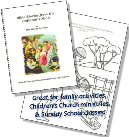 Bible Stories from the Children's Nook - Book Heaven - Challenge Press from CHALLENGE PRESS