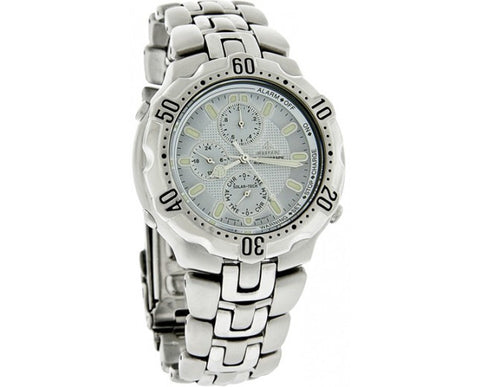 Eco-Drive Chronograph with Alarm, 200 Meter Watch - AP5210-50A
