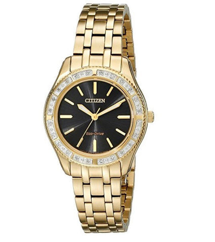 EM0242-51E Citizen Women's Eco-Drive Carina Watch With Diamonds