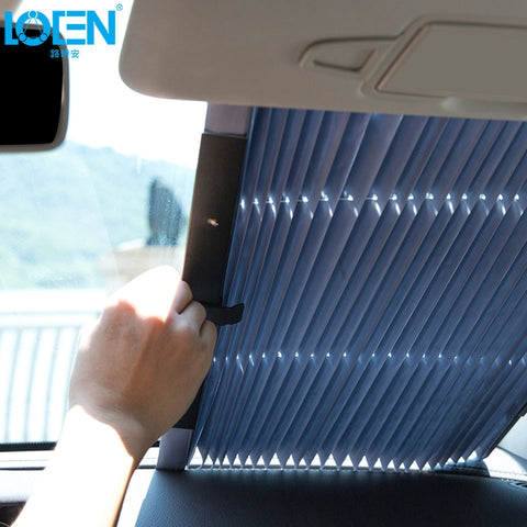 Windshield Sunshade Curtain