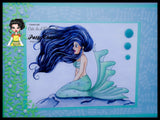 IMG00457 Mermaid Ariana Digital Digi Stamp