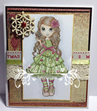 IMG00010 Christmas Tree Outfit Digital Digi Stamp