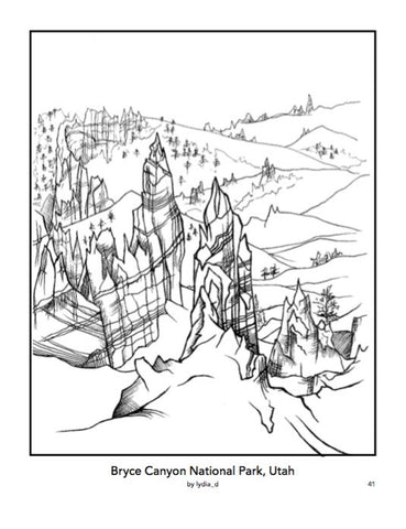 Color Your Park Coloring Book