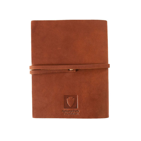 Find Your Park Leather Journal
