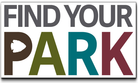 Find Your Park Sticker