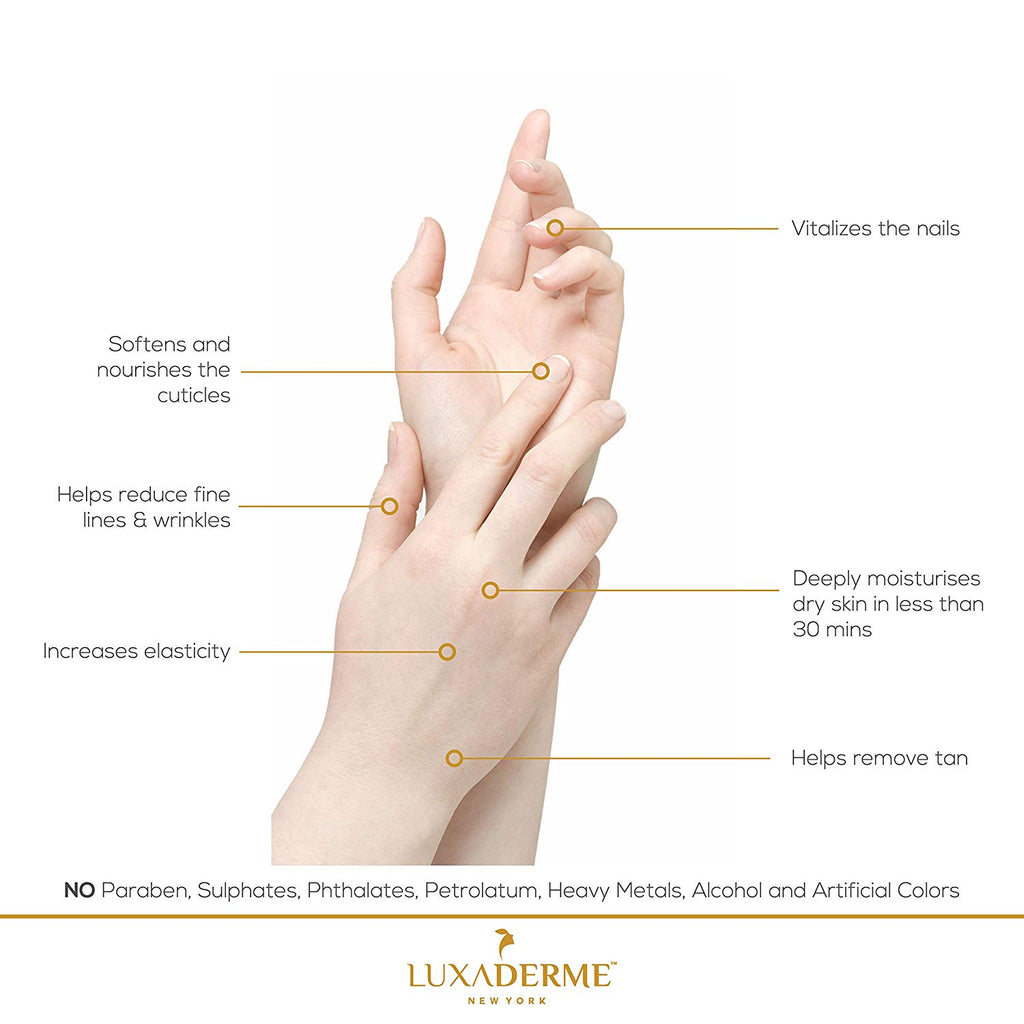 LuxaDerme Deep Moisturizing Hand Hydration Gloves