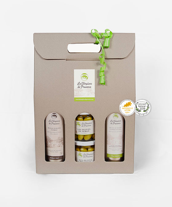 Templiers Gift Box with Olives de Serge