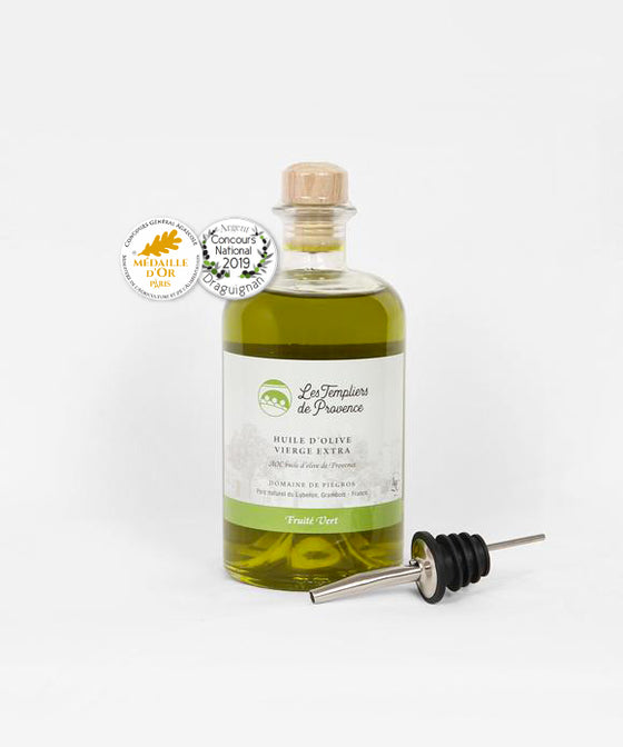 "Olive Oil ""Vert Intense"" 0,5L Attractive Bottle"