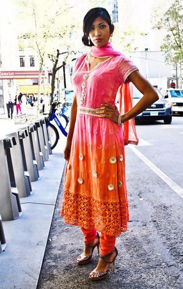 Chetna- NYC Street chic - Desi style suit