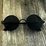 Vintage Gothic Steampunk Embossed Side Shields with Intricate Details Black Frame Sunglasses - NikkiEyewear.com - 3