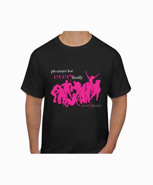 Lotus Blooms Pleasure For Every Body Fundraising T-Shirt
