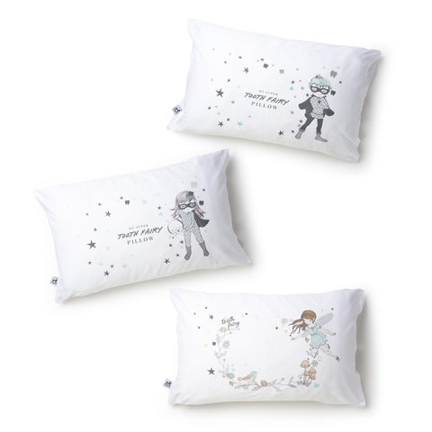 My Tooth Fairy Pillowcase- organic cotton