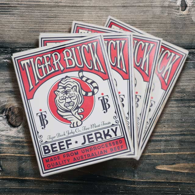 Tiger Buck Jerky Deck (x4)