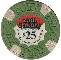 20th Century Casino $25 Green Chip - Spinettis Gaming - 1