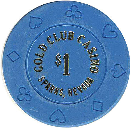 Gold Club Casino $1 chip - Spinettis Gaming - 1