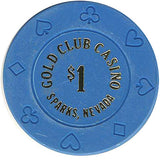 Gold Club Casino $1 chip - Spinettis Gaming - 2