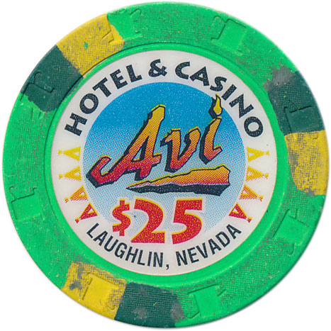 Avi Laughlin Casino $25 Chip 1995