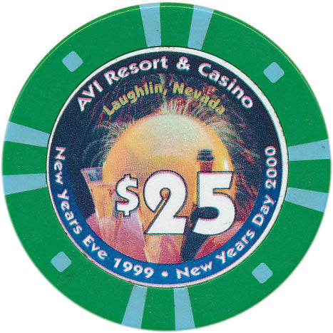 Avi Laughlin Casino $25 Chip 1999
