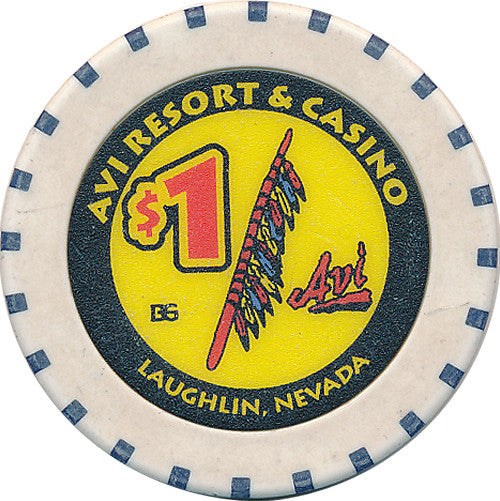 Avi Laughlin Casino $1 Chip 2006