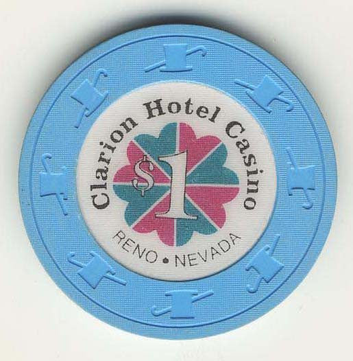 Clarion Hotel $1 (lt.blue 1991) Chip