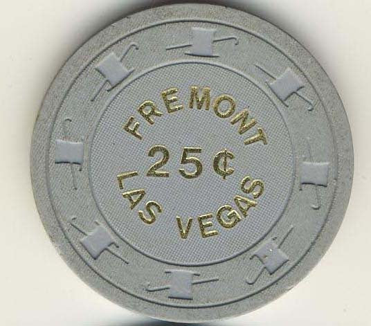 Fremont 25cent (gray 1980s) chip