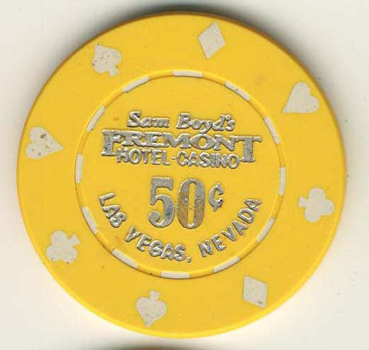 Fremont 50cent (yellow 1985) chip