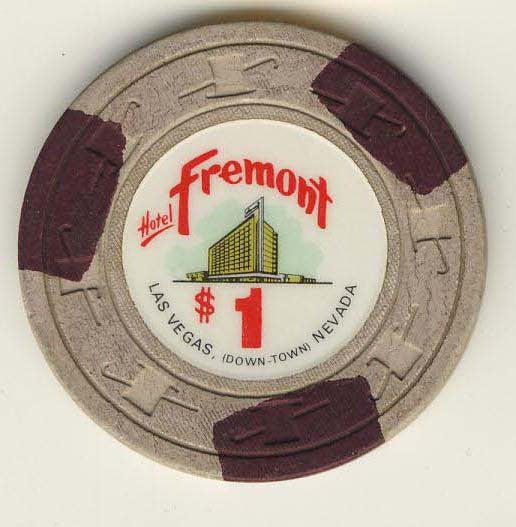 Fremont $1 (off/white 1967) chip