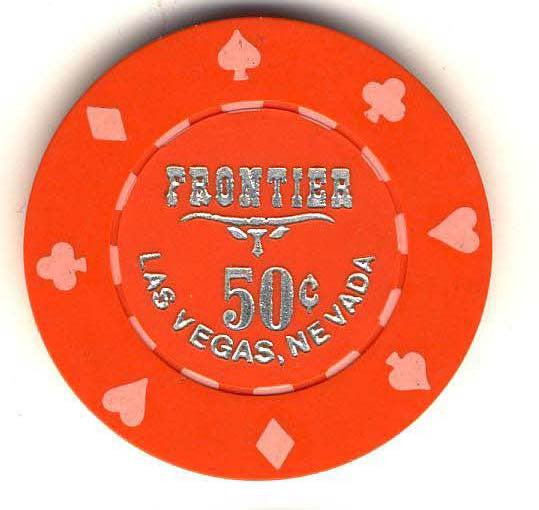 Frontier Casino Las Vegas 50cent Chip 1980
