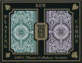Kem Arrow Brown & Green Bridge Size 2 deck setup - Spinettis Gaming
