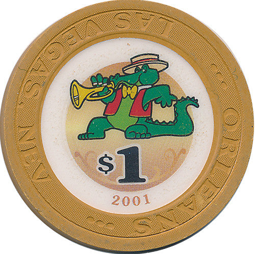 Orleans, Las Vegas NV $1 Casino Chip