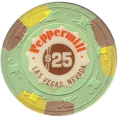Peppermill $25 chip