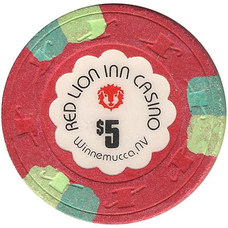 Red Lion Inn Casino $5 chip