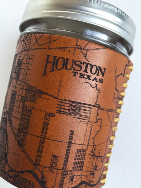 Houston Map Travel Mug