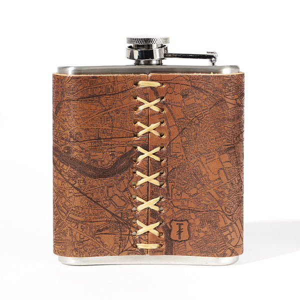 London Map Flask