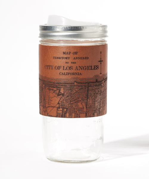 Los Angeles Map Travel Mug