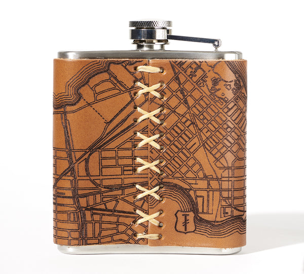 Madison Map Flask