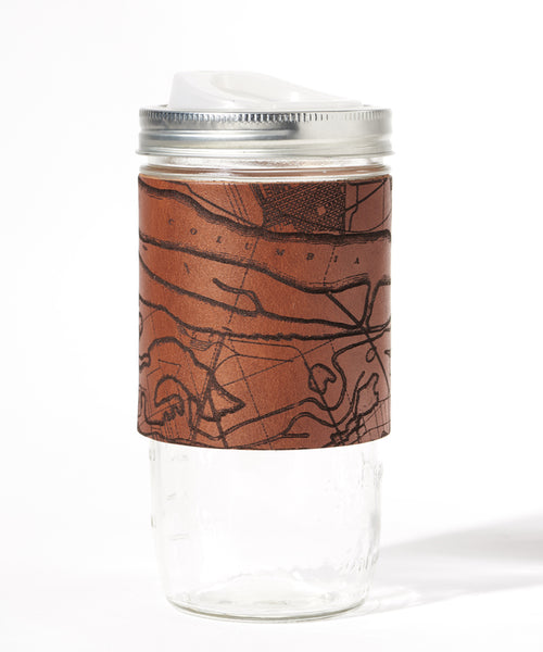 Portland Map Travel Mug, Columbia River Gorge