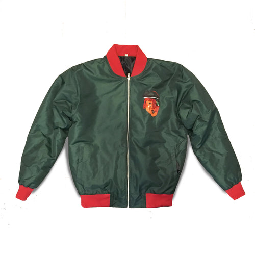 Bomber Jacket (Green & Red)
