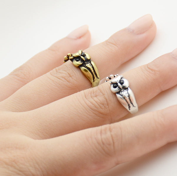 Owl Wrap Ring