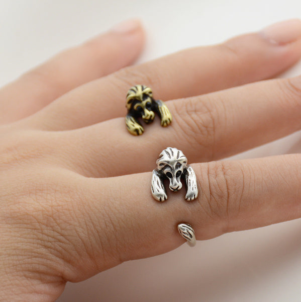 Lion Wrap Ring