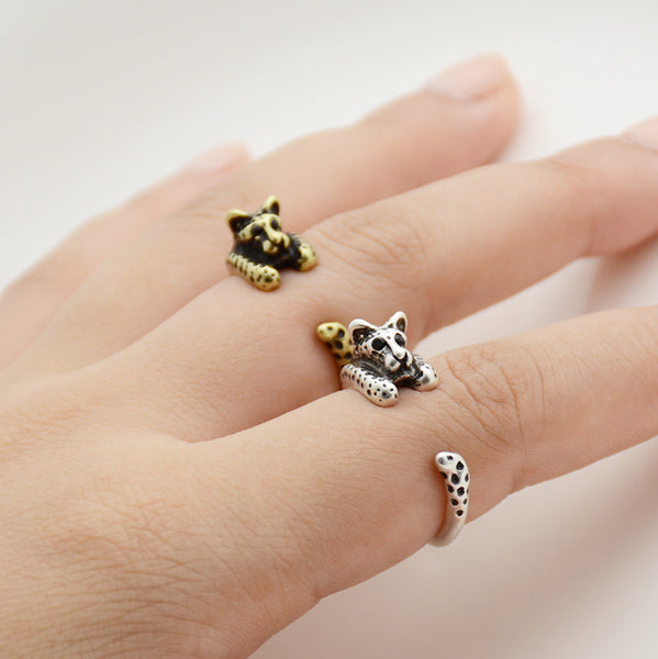 Leopard Wrap Ring
