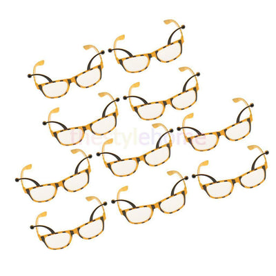 MagiDeal 10x Bee Party Glasses Honeybee Eyeglasses Costume Dressing up Props