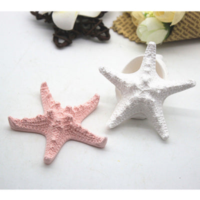 Starfish Shape Silicone Mold Necklace Pendants Jewelry Making Soap Mould DIY