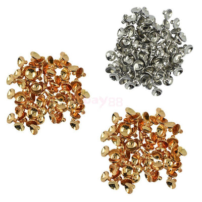 150pcs Brass End Bead Caps Spacer Craft Jewelry Findings Lots DIY 6mm 8mm